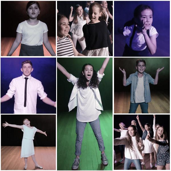 Junior Students Singing