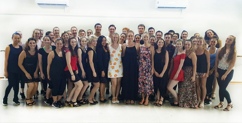 Musical Theatre Students with Jemma RixOZ