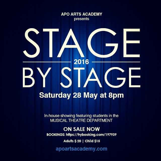 Stage by Stage In-house showing musical theatre department