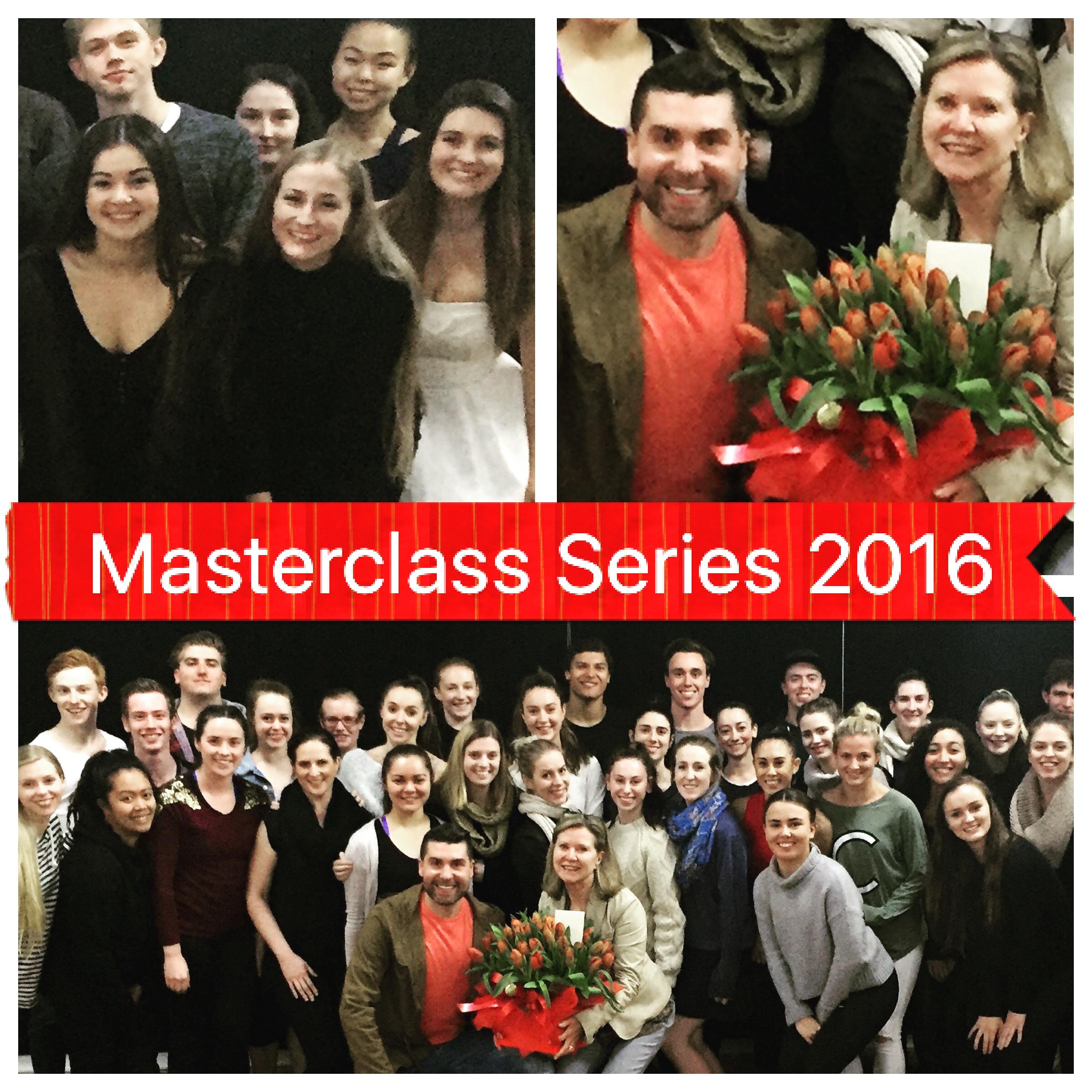 dance world studios masterclass series 2016