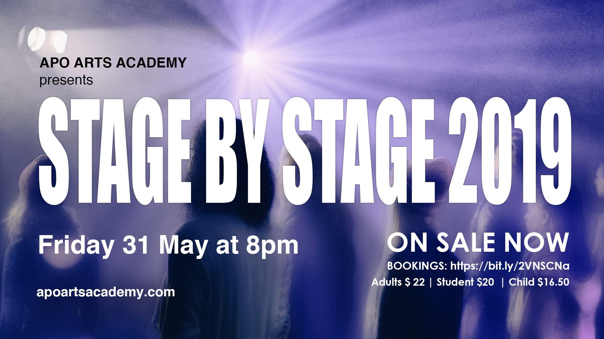 Stage by Stage 2019 in house show