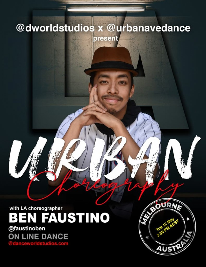 Online Urban Choreography Class by Ben Faustino