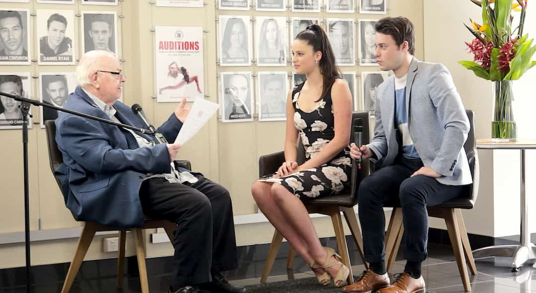 Father Bob Interview with Dance World Studios scholarship students
