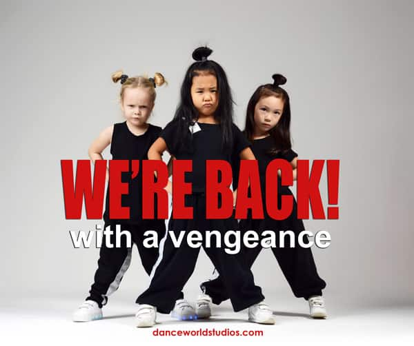Junior Dance Programs are back at Dance World Studios