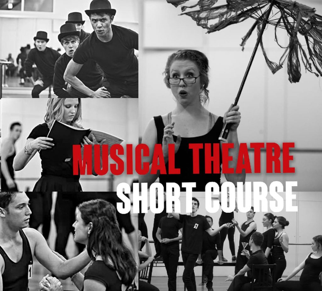 Musical Theatre Short Course students performing